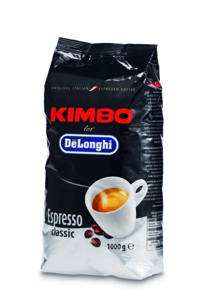 Кафе DeLonghi KIMBO НА ЗЪРНА 1 KG